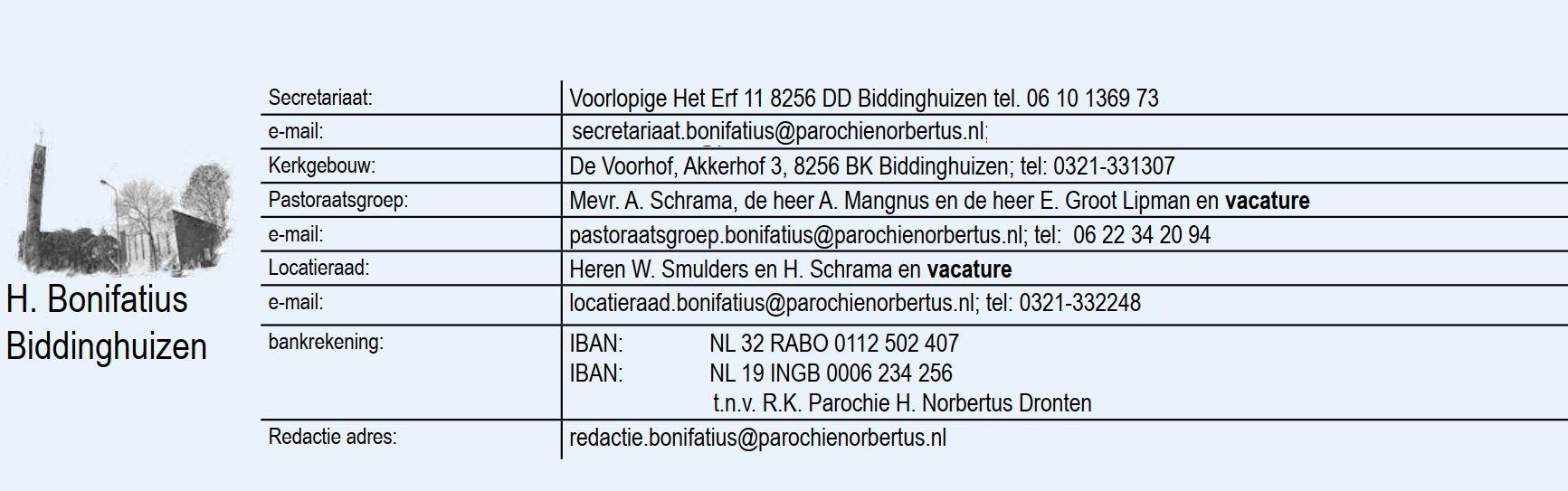 Bonifatius_Contact