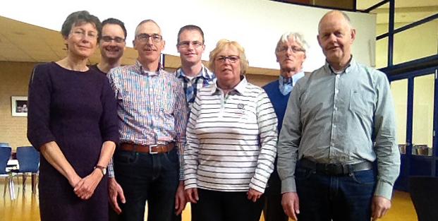 Marian Visser, Hendrik van Eijken, Jan Groenwold, Dennis Teuben, Ineke van Rijn, Jos Fassaert, Gerard Teuben